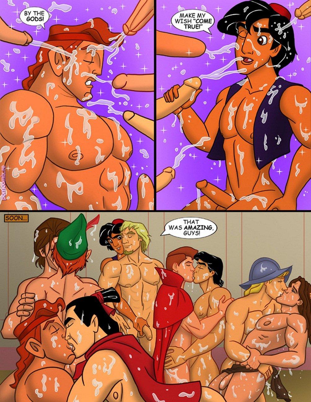 Disney comic sex