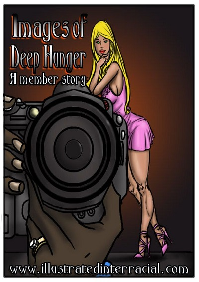 Images of Deep Hunger- Illustrated interracial