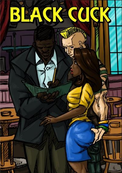 Black Cuck – illustrated interracial