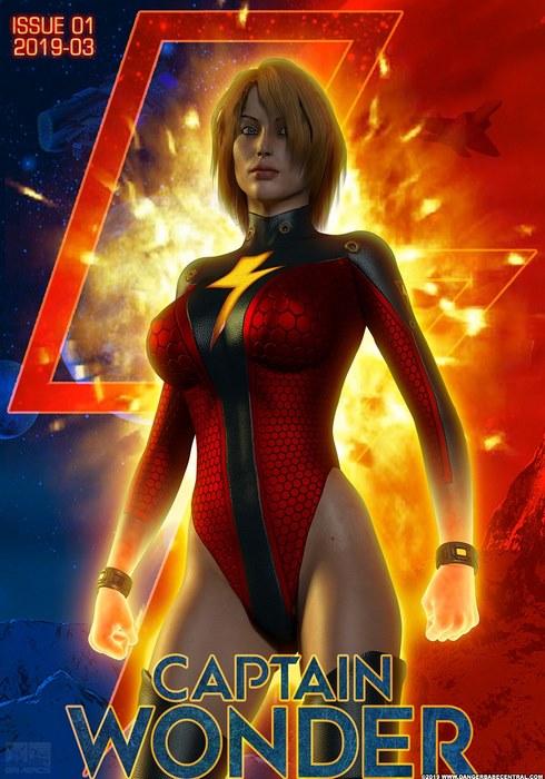 Captain Wonder!- Dangerbabecentral