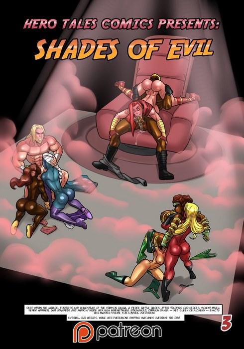 Hero Tales- Shade Of Evil by RabidOtaku