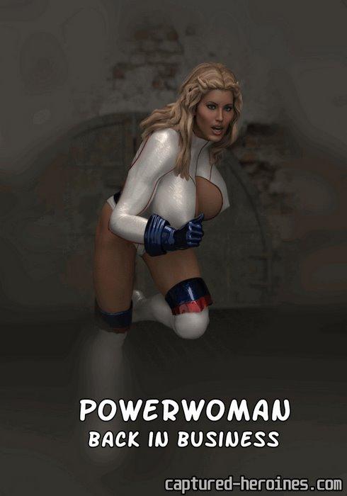 Powerwoman Back in Business- Captured Heroines