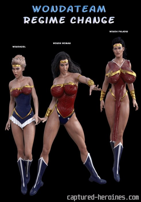 Wonda Team Regime Change- Captured Heroines