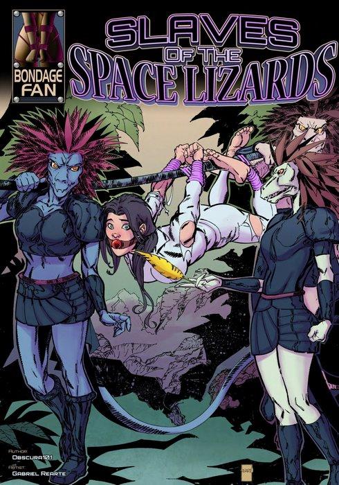 Slaves of the Space Lizards – Bondage Fan