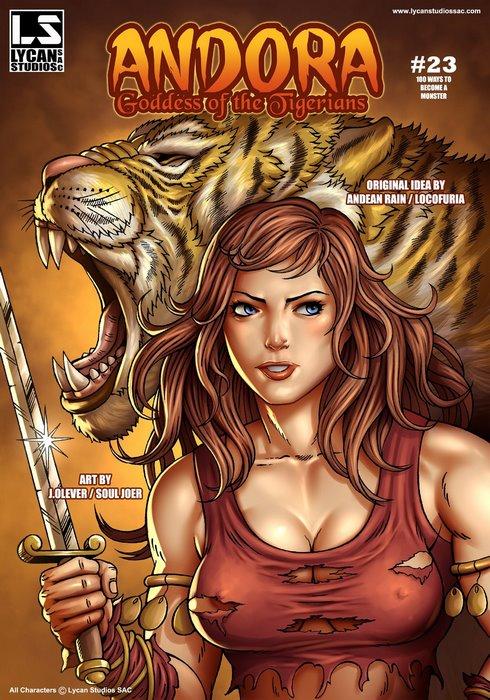 Andora Goddess of the Tigerians- Locofuria