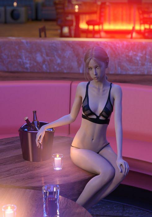 Liliana lingerie- Darklord