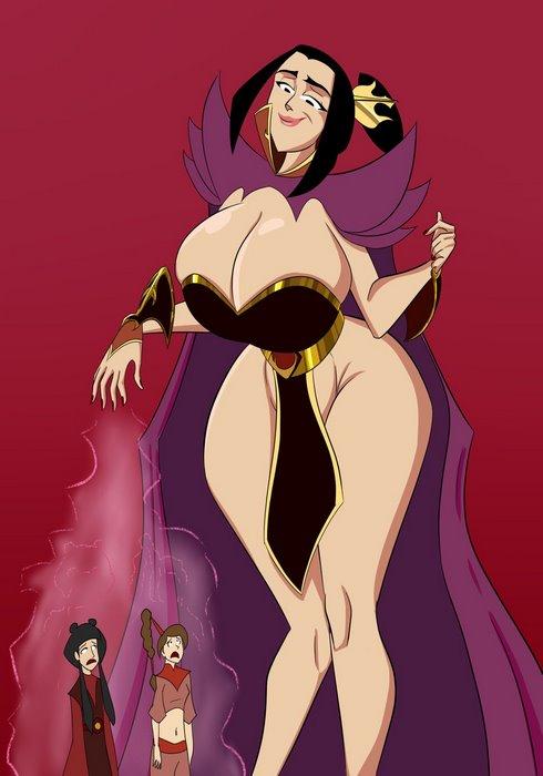 Azula's Sizebending- Avatar