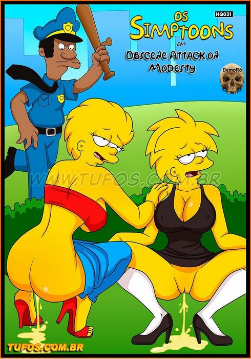 The Simpsons 31 – Obscene Attack on Modesty