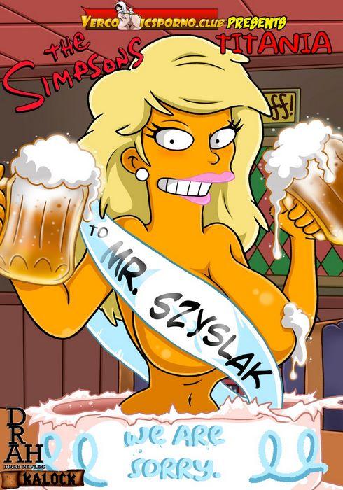 Titania- Drah Navlag (The Simpsons)