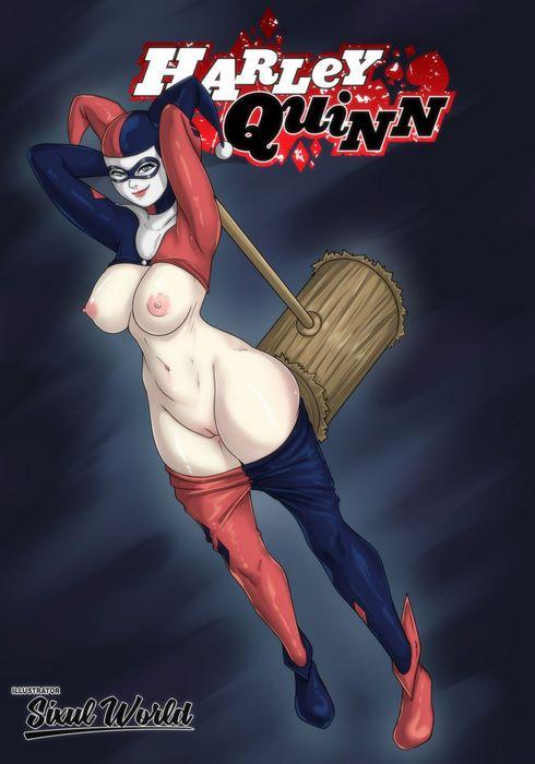 Batman and Harley Quinn- RadiCool332