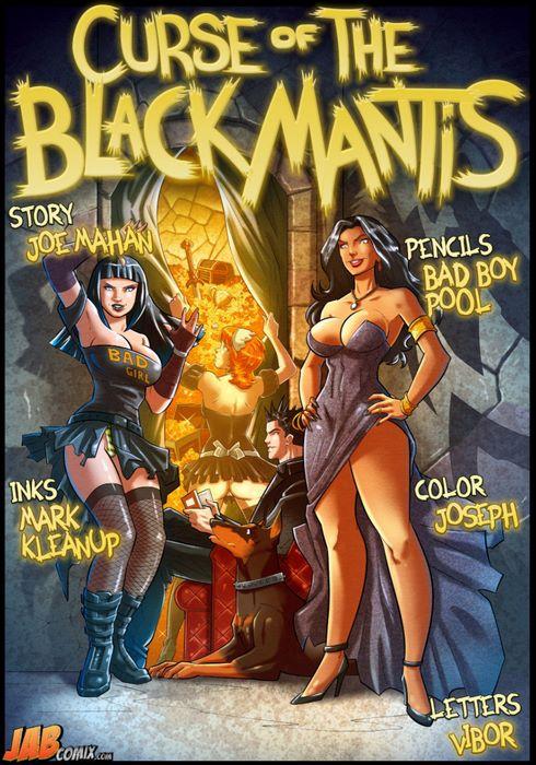 Curse of The Black Mantis- JabComix