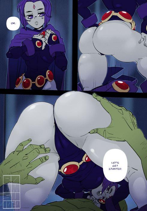 Raven- Roumgu (Teen Titans)
